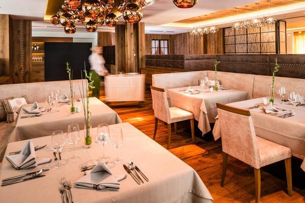 Il ristorante Lutago Schwarzenstein