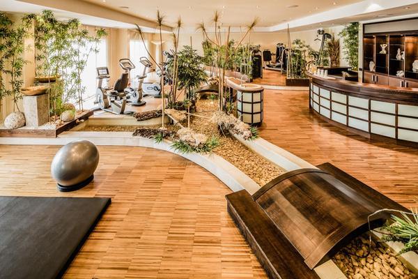 Foto della zona fitness Hotel Schwarzenstein