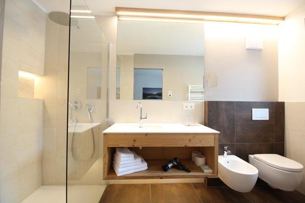 Foto del bagno Appartement Hotel Deluxe Erlhof