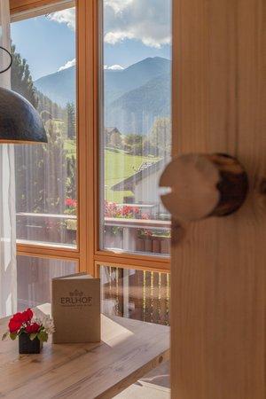 La zona giorno Appartement Hotel Deluxe Erlhof