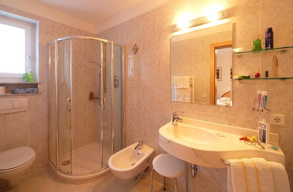 Photo of the bathroom Appartement Hotel Deluxe Erlhof