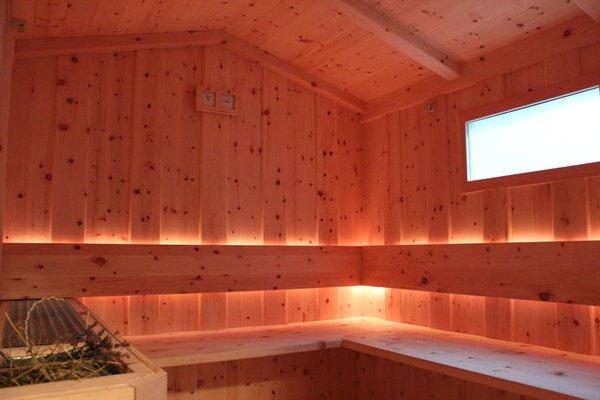 Foto der Sauna Luttach