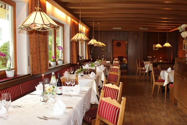 The restaurant Lutago / Luttach Appartement Hotel Deluxe Erlhof