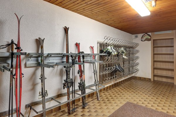La skiroom Hotel Gisserhof