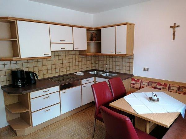 La zona giorno Hotel + Residence Griesfeld