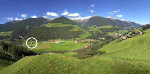 La posizione Hotel Martinshof San Giovanni (Valle Aurina)