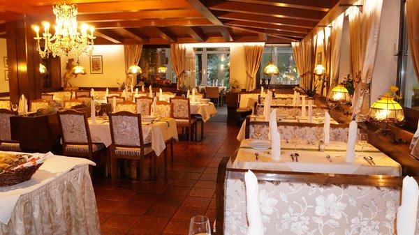The restaurant Lutago / Luttach Schwarzbachhof