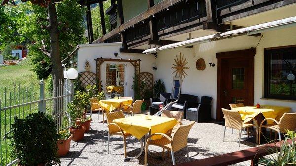 Foto vom Garten Luttach