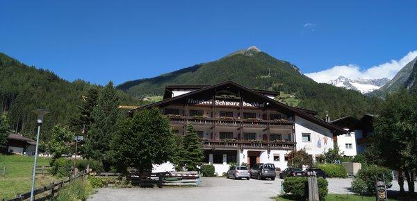Foto Außenansicht im Sommer Schwarzbachhof