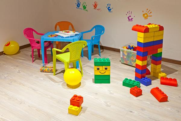 La sala giochi Family Hotel Stegerhaus