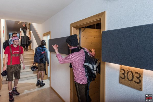 Le parti comuni Hotel Steinpent - das Aktiv-Hotel