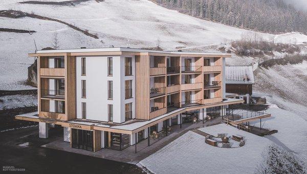 Foto invernale di presentazione Stoana - Aparthotel 4 stelle
