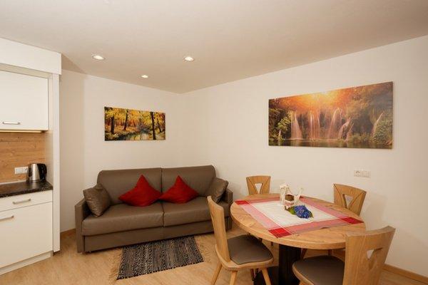 La zona giorno Hotel & Dependance Garber - Hotel + Residence 3 stelle
