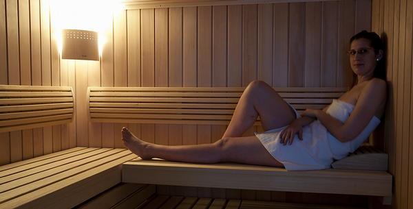 Foto della sauna Cadipietra