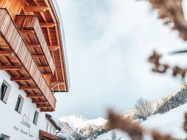 Foto invernale di presentazione B&B-Hotel Schönberg
