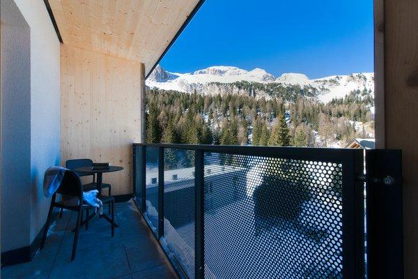 Foto vom Balkon Boè Sports & Nature Hotel