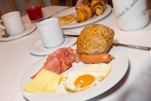 Das Frühstück Boè Sports & Nature Hotel - Hotel 3 Stern sup.