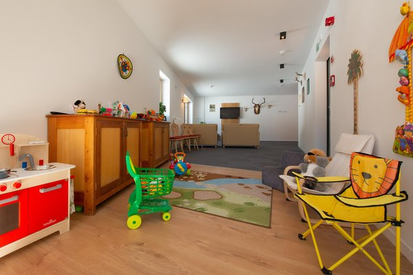 Das Kinderspielzimmer Boè Sports & Nature Hotel