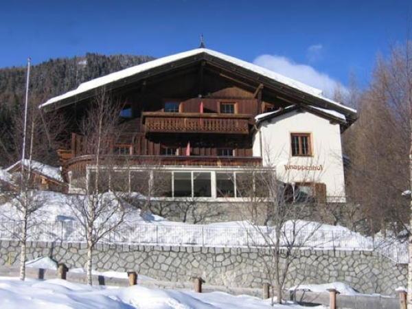 Foto invernale di presentazione Knappenhof - Pensione + Residence 2 stelle