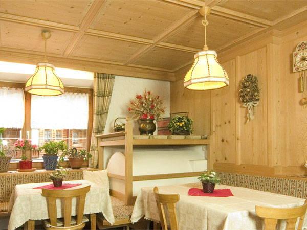 Il ristorante Predoi (Valle Aurina) Knappenhof