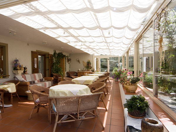 Le parti comuni Pensione + Residence Knappenhof