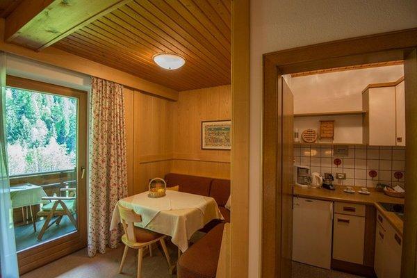La zona giorno Brunelle - Garni (B&B) + Appartamenti 3 soli