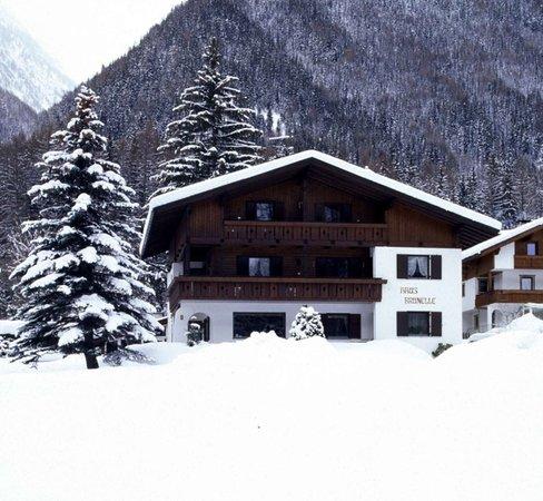 Foto invernale di presentazione Brunelle - Garni (B&B) + Appartamenti 3 soli