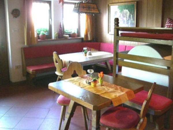 Il ristorante Lutago Lechnerhof