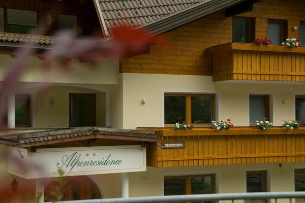 Photo exteriors in summer Alpenresidence