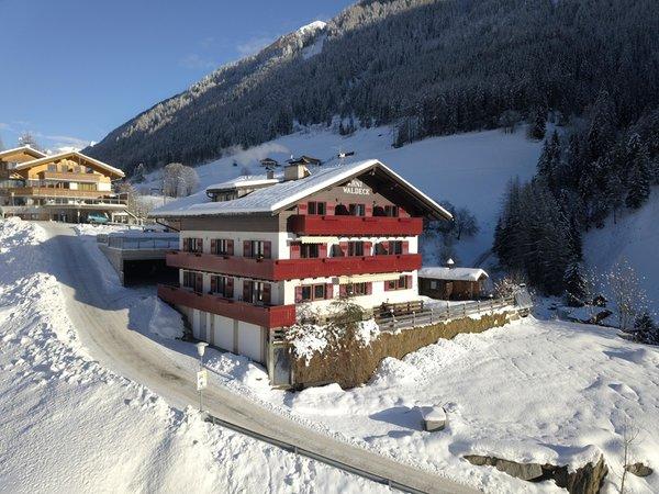 Foto invernale di presentazione Garni (B&B) Waldeck
