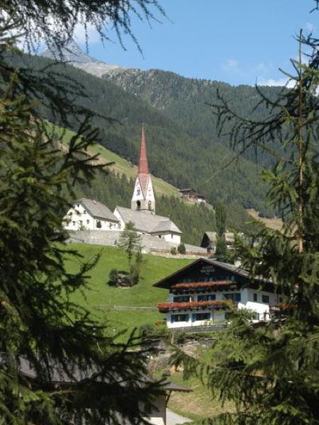 La posizione Garni (B&B) Waldeck San Giacomo (Valle Aurina)