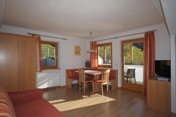 La zona giorno Großarzbachhof - Camere + Appartamenti in agriturismo 3 fiori