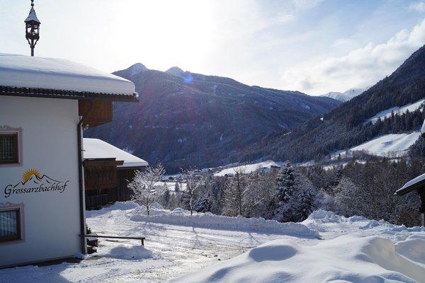 Photo exteriors in winter Großarzbachhof