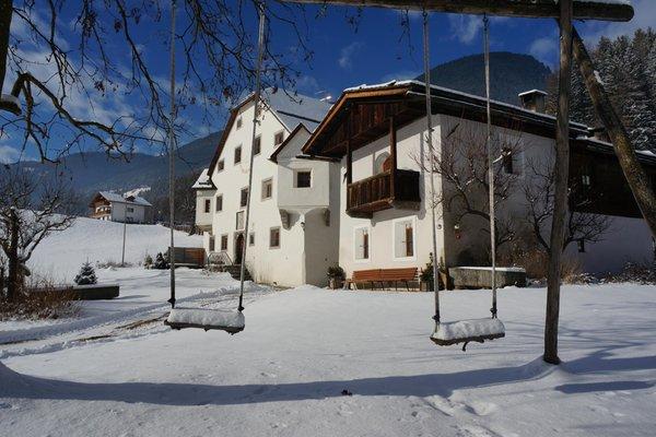 Photo exteriors in winter Ansitz Bergrichter