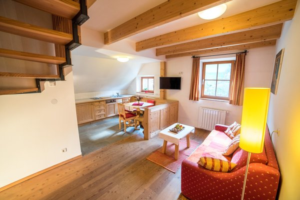 The living area Apartments Ansitz Bergrichter