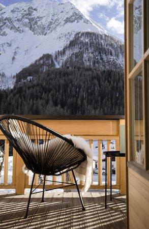 Photo of the balcony Mountain Residence Kasern