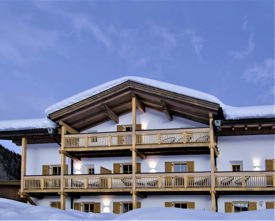 Winter presentation photo Mountain Residence Kasern