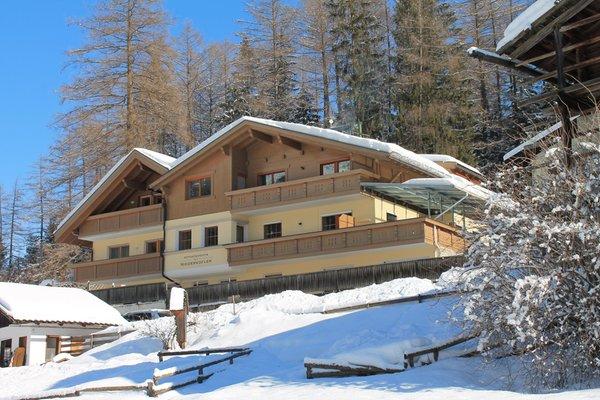 Foto invernale di presentazione AlpenChalet Niederkofler - Appartamenti 3 soli