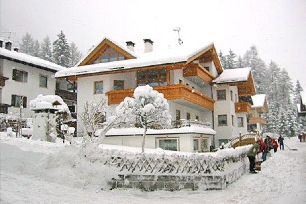 Foto invernale di presentazione Gartner - Appartamento 3 soli