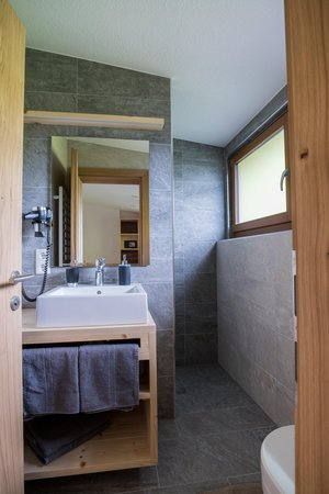Photo of the bathroom Farmhouse apartments Innertrein