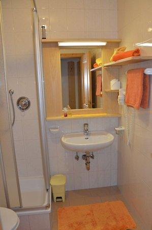 Foto del bagno Appartamenti in agriturismo Oberachrain