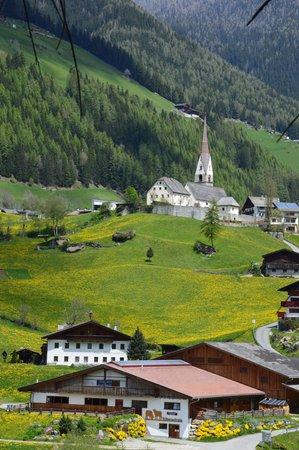La posizione Appartamenti in agriturismo Oberachrain San Giacomo (Valle Aurina)