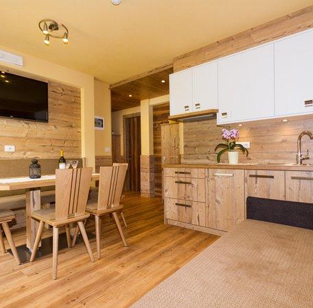 Foto della cucina Zimmerhofer Appartement Deluxe