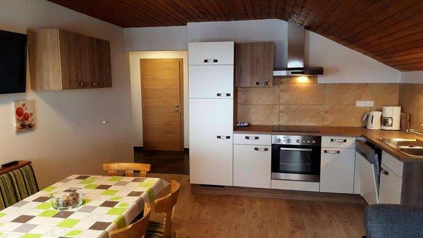 La zona giorno XL-Appartements Steinhaus - Appartamenti 4 soli