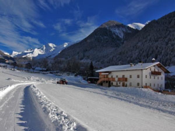 Foto invernale di presentazione Appartamenti in agriturismo Obergruberhof