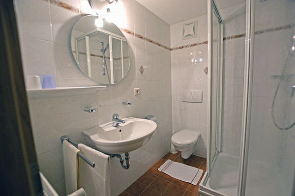 Photo of the bathroom Small hotel Oberwirt
