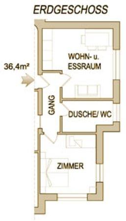 La planimetria Residence Sonneck