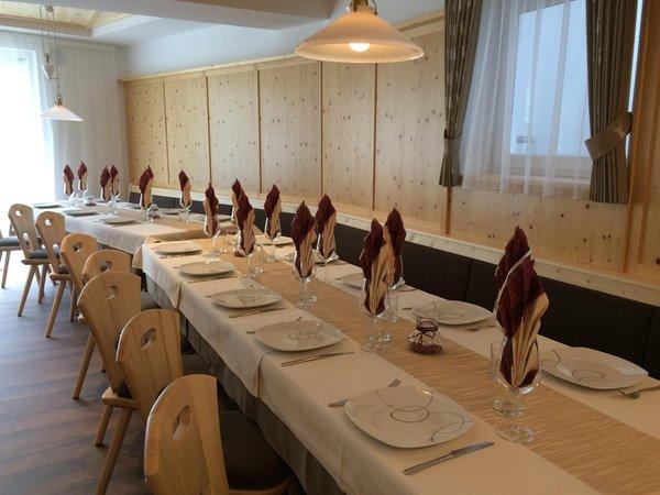 Il ristorante Selva dei Molini Aparthotel Sonnwies