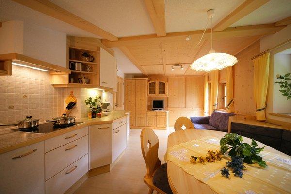 La zona giorno Grossgasteigerhof - Appartamenti in agriturismo 3 fiori