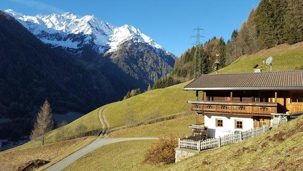Foto esterno in inverno Grossgasteigerhof